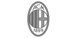 AC milan football club logo