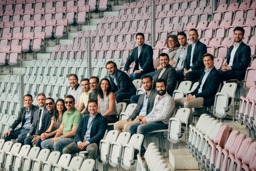 FBA team in Geneva stadium