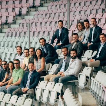 FBA team in Geneva stadium