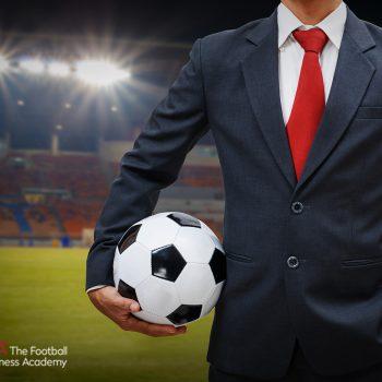 Man with football ball
