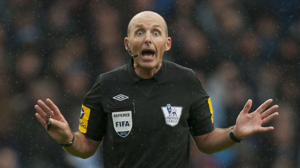 Mike Dean, Football Referee