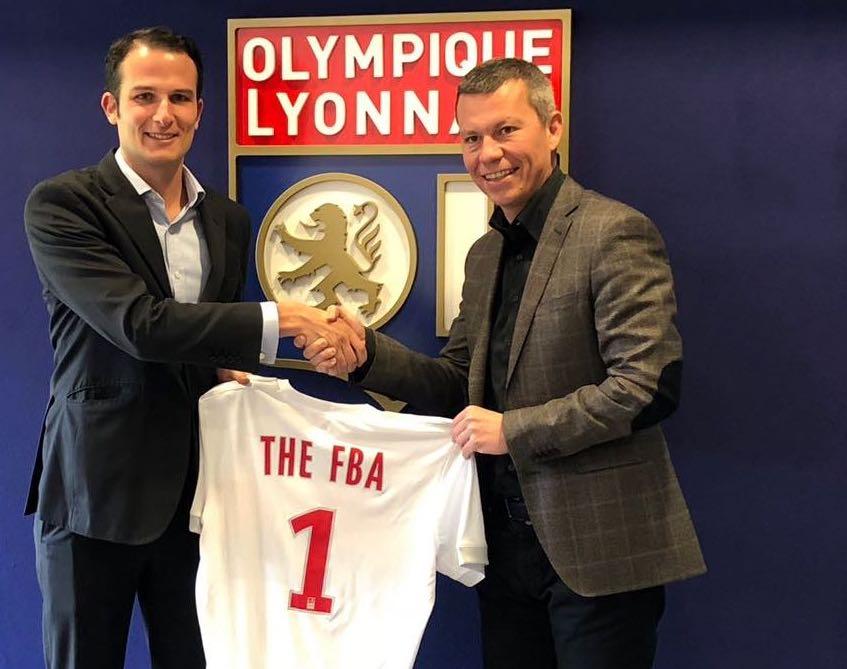 FBA partnership - Olympique Lyonnais