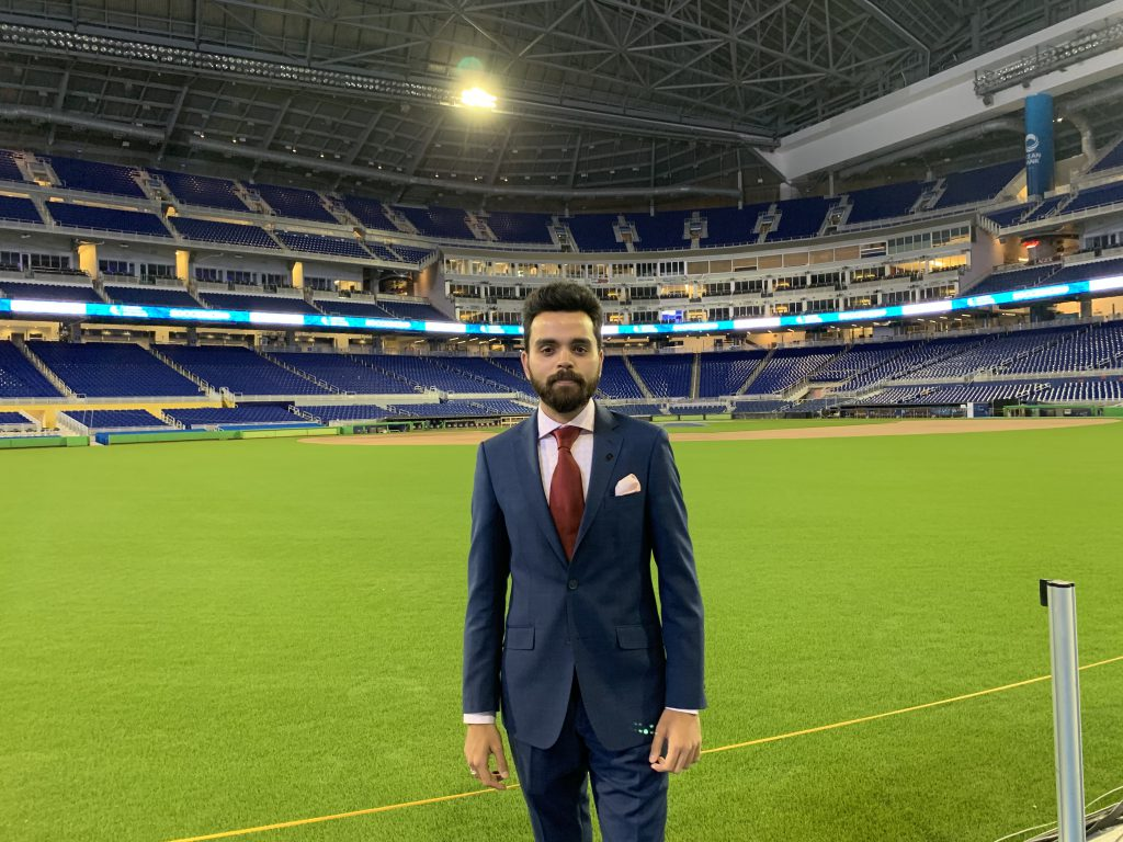 Prathamesh Tiwari at Soccerex Week