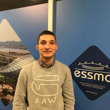 Konstantin Pashev internship at ESSMA
