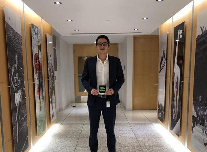 Nicolas Amadio internship at World Anti-Doping Agency