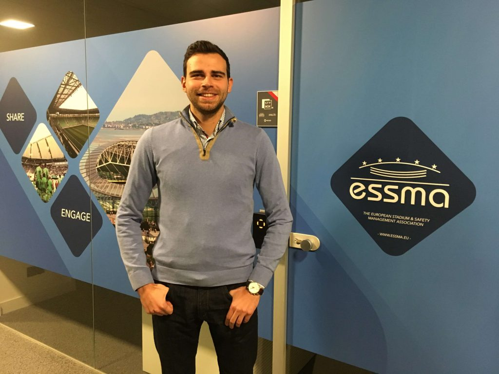 Yuriy Borovyi internship at ESSMA