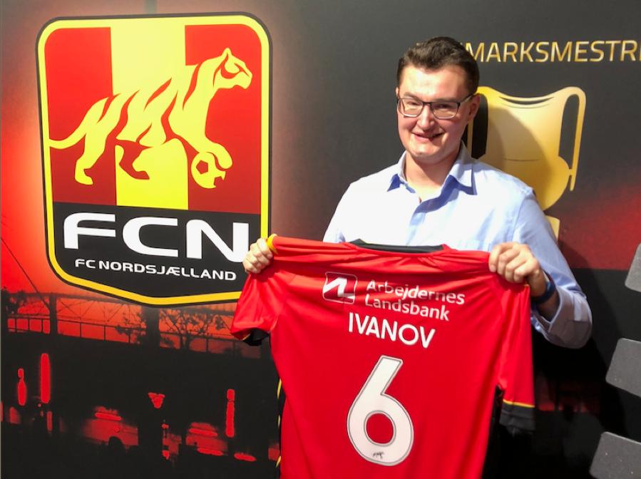 Stan Ivanov internship at FC Nordsjaelland