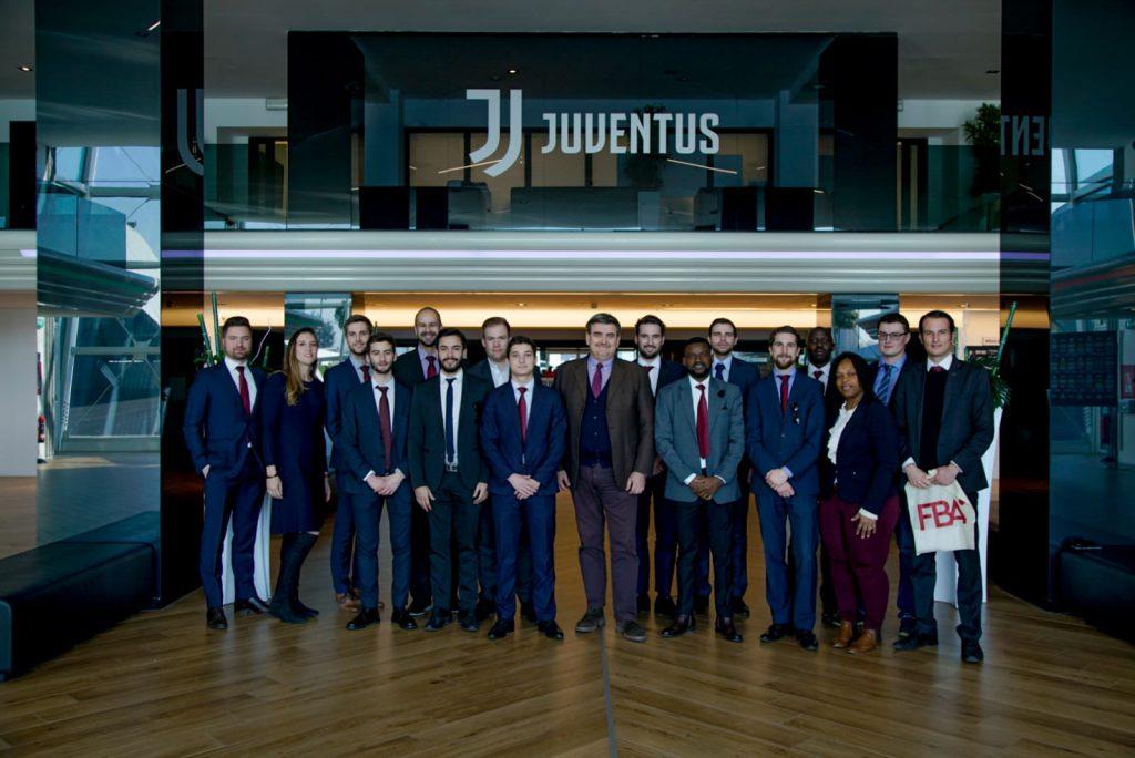 FBA students at Juventus