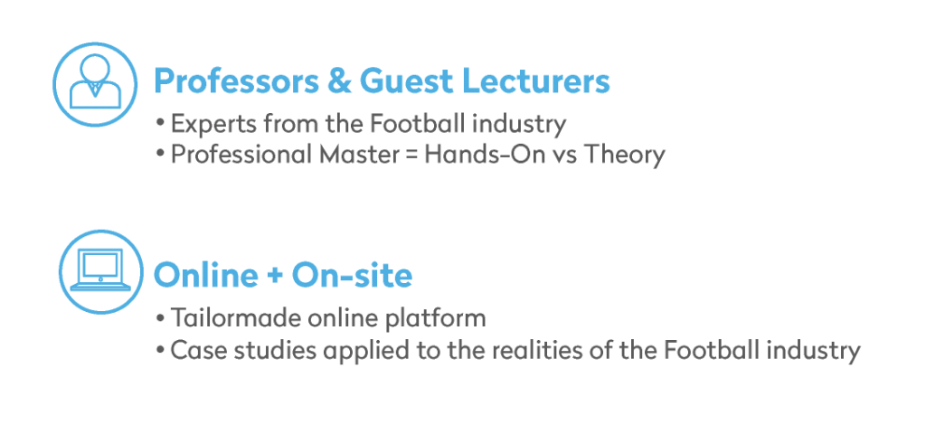 Professors & Guest Lecturers and Online+On-site Classes information