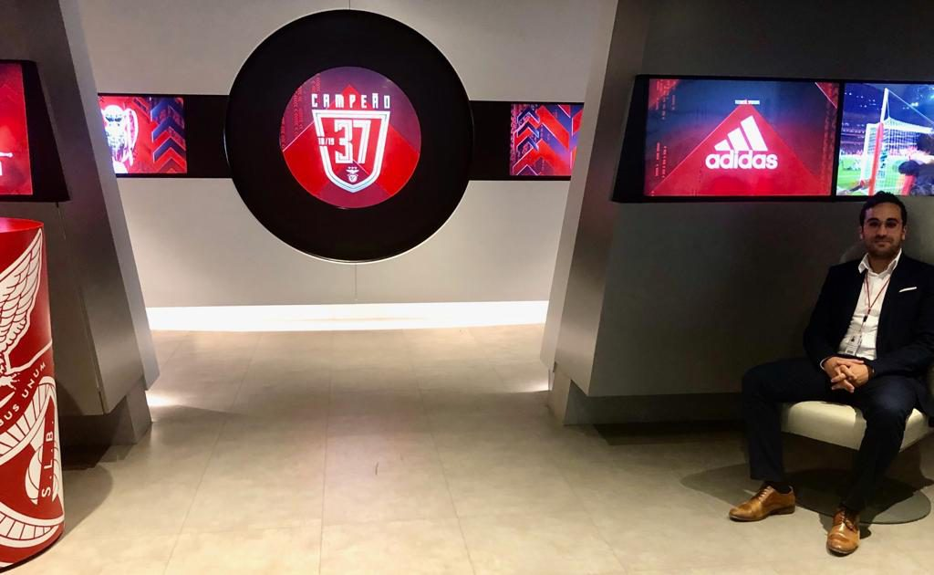 Micael Da Costa internship at Benfica