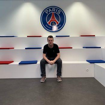 Mikael Coehlo internship at Paris Saint-Germain