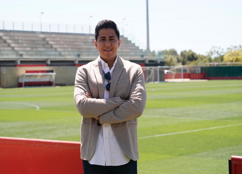 Fabian Baquero internship at Real Mallorca