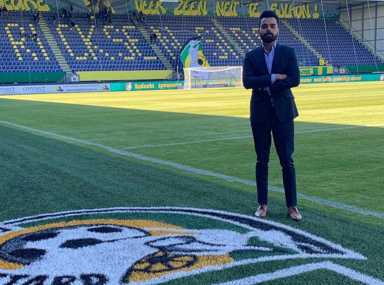 Prathamesh Tiwari internship at Fortuna Sittard
