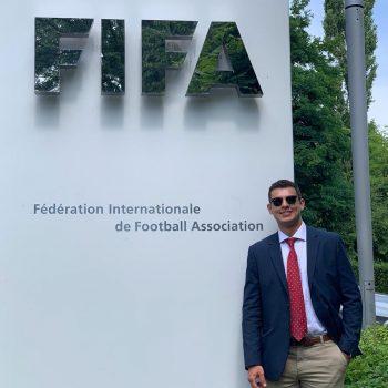 Erdal Barkay at FIFA