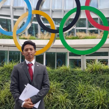 Arief Ilyasa in Field Trip to The International Olympic Committee