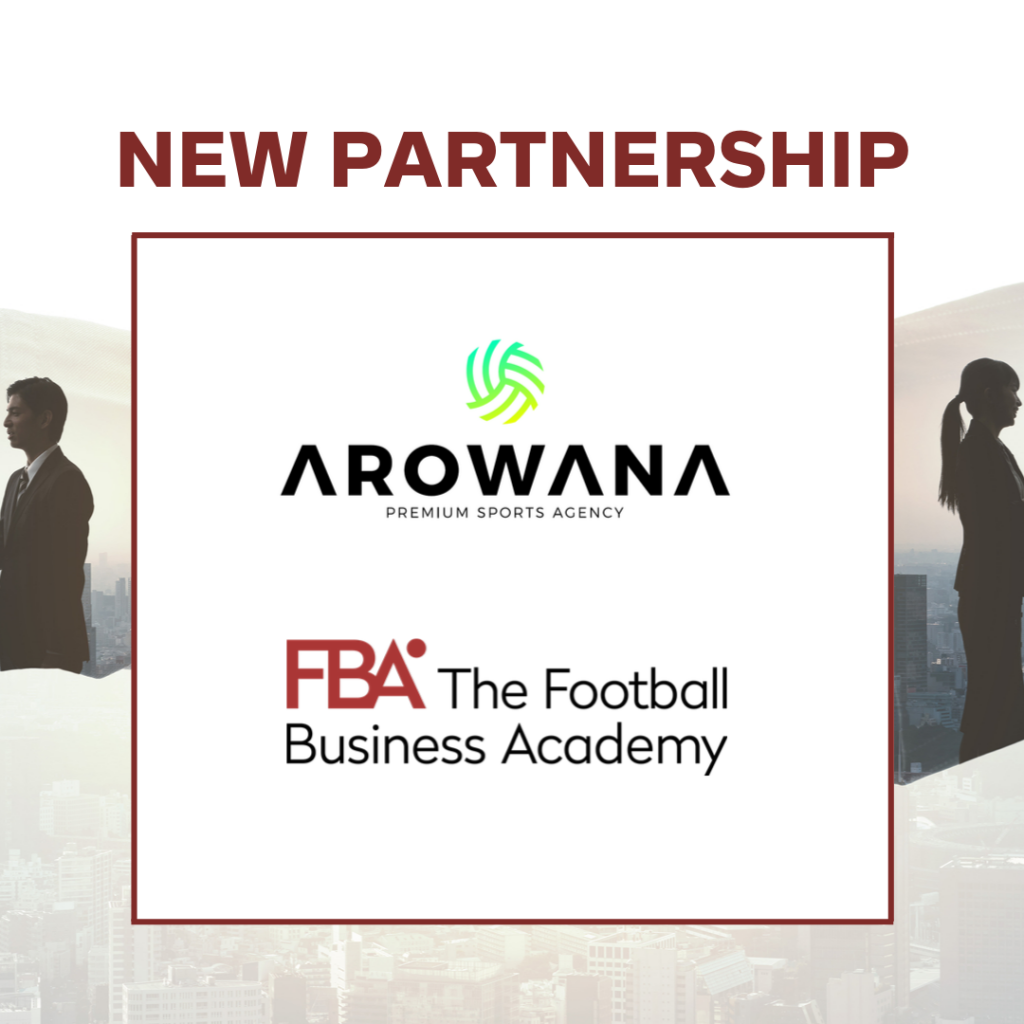 FBA partnership - Arowana Premium Sports Agency