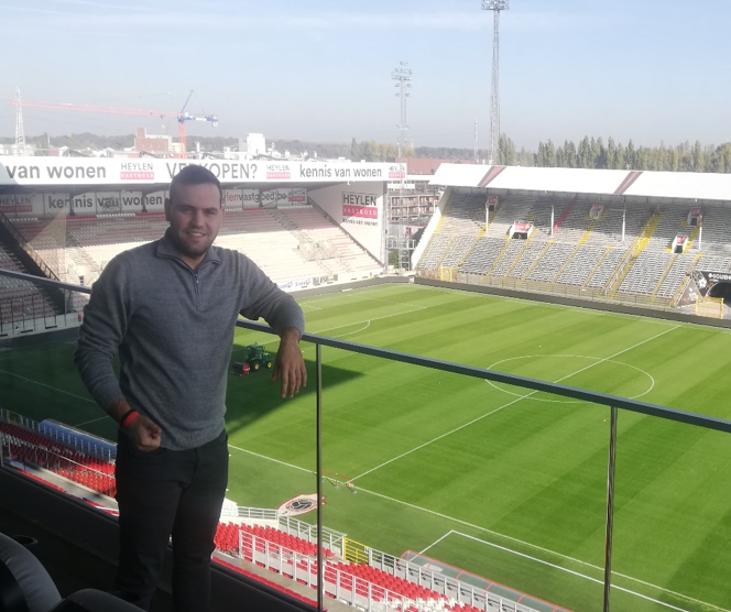 Michel Malek internship at Royal Antwerp FC