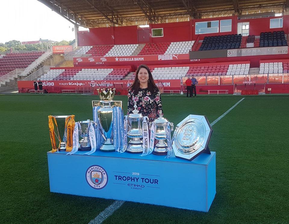 Maria Laura Ordoñez Vargas internship at Girona FC