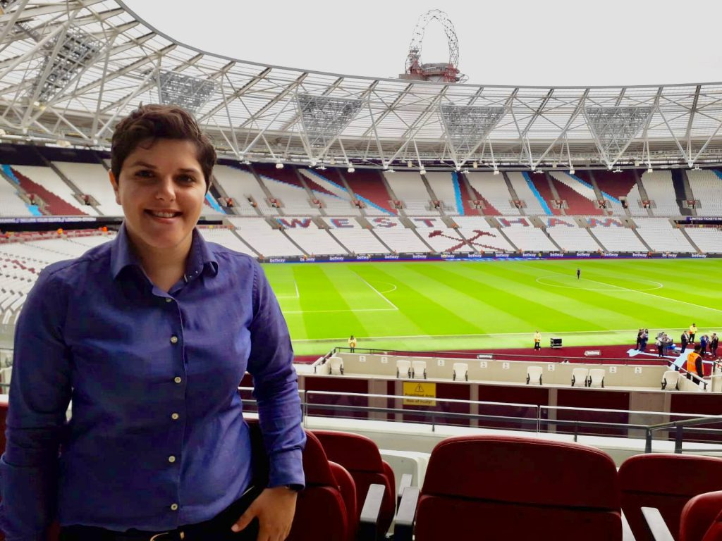 Catia at London Stadium