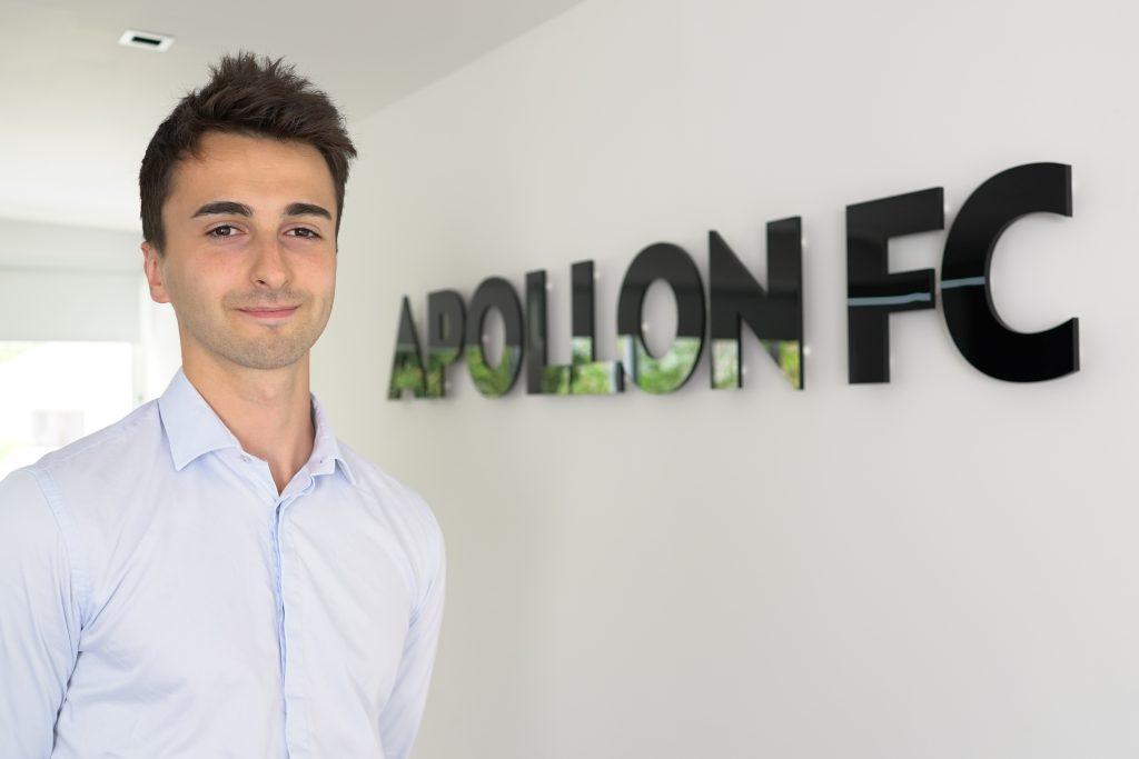 Hugo Chaillou Internship Apollon FC